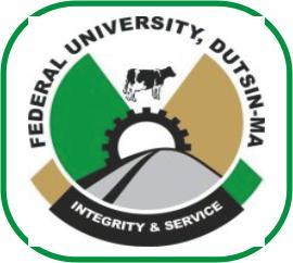 federal university dutsin logo